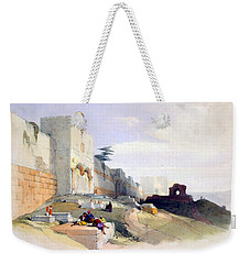Golden Gate Of The Temple Weekender Tote Bag