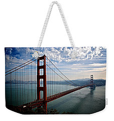 Golden Gate Open Weekender Tote Bag by Eric Tressler
