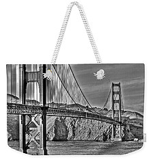 Golden Gate Over The Bay 2 Weekender Tote Bag