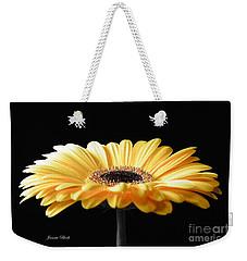 Golden Gerbera Daisy No 2 Weekender Tote Bag