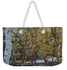 Golden Glade Weekender Tote Bag