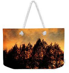 Golden Hours Weekender Tote Bag