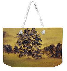 Golden Landscape Weekender Tote Bag by Judith Rhue