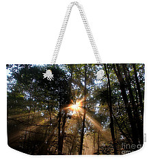 Golden Light Weekender Tote Bag