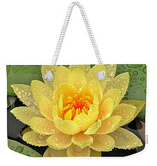 Golden Lily Weekender Tote Bag