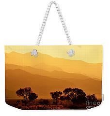 Golden Mountain Light Weekender Tote Bag