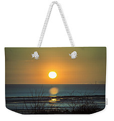 Golden Orb Weekender Tote Bag by Spikey Mouse Photography