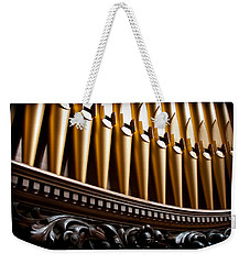 Golden Organ Pipes Weekender Tote Bag