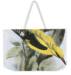 Golden Oriole Weekender Tote Bag by English School