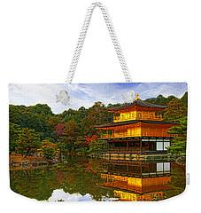 Golden Pavilion Weekender Tote Bag