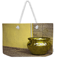 Golden Pot Weekender Tote Bag