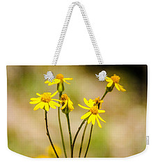 Golden Ragwort Weekender Tote Bag