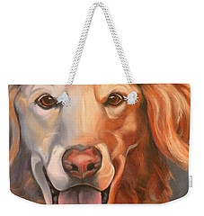 Golden Retriever Till There Was You Weekender Tote Bag