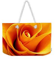 Golden Rose Weekender Tote Bag