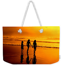 Golden Sands  Weekender Tote Bag by Micki Findlay