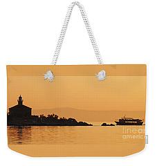 Golden Sea - Golden Sky Weekender Tote Bag