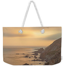 Golden Seashore Weekender Tote Bag
