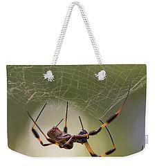 Golden-silk Spider Weekender Tote Bag