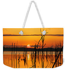 Golden Sunrise Weekender Tote Bag