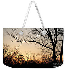 Weekender Tote Bag featuring the photograph Golden Sunset by Todd Blanchard