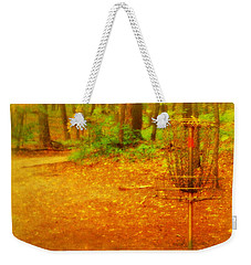 Golden Target Weekender Tote Bag