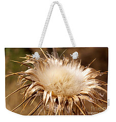 Golden Thistle Weekender Tote Bag by Kerri Mortenson