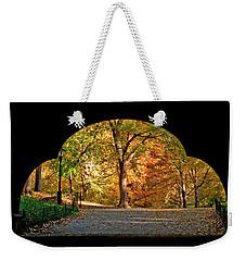 Golden Underpass Weekender Tote Bag