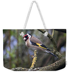 Goldfinch Weekender Tote Bag by Richard Thomas