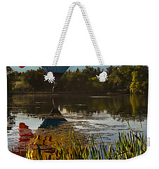 Goldfish Reflection Weekender Tote Bag