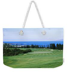 Golf Course At The Oceanside, Kapalua Weekender Tote Bag