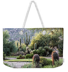 Golf Paradise Weekender Tote Bag