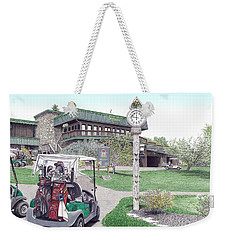Golf Seven Springs Mountain Resort Weekender Tote Bag