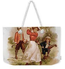 Golfing Weekender Tote Bag