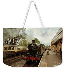 Goliath The Engine And Anna Weekender Tote Bag by Terri Waters