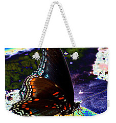 Gona-fly-butterfly Weekender Tote Bag by Kim Pate