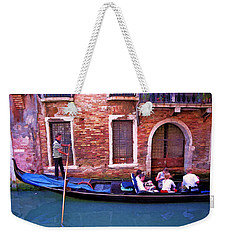 Weekender Tote Bag featuring the photograph Gondola 4 by Allen Beatty