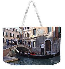 Gondola Ride - Venice - Italy Weekender Tote Bag