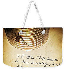 Good Advice - Spider Art By Sharon Cummings Weekender Tote Bag by Sharon Cummings