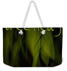 Weekender Tote Bag featuring the photograph Good Bye Hint by Vicki Ferrari