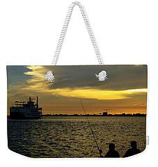 Good Day Fishing Weekender Tote Bag
