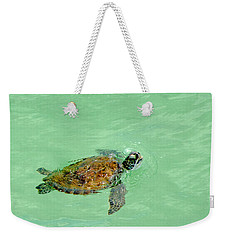 Good Day For A Swim  Weekender Tote Bag