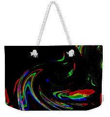 Weekender Tote Bag featuring the photograph Good Feelings by Mike Breau