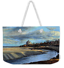 Good Harbor Beach Gloucester Weekender Tote Bag by Eileen Patten Oliver