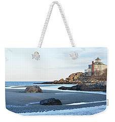 Good Harbor Beach Weekender Tote Bag
