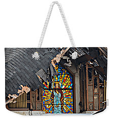 Good Lord Weekender Tote Bag by Ally  White
