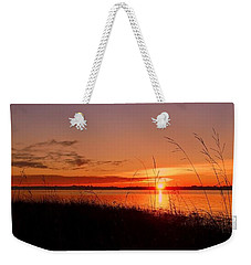 Weekender Tote Bag featuring the photograph Good Morning ... by Juergen Weiss