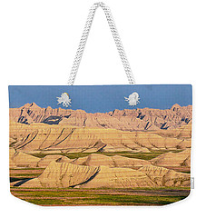 Good Morning Badlands I Weekender Tote Bag by Patti Deters