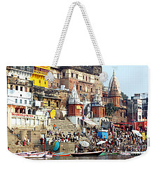 Good Morning Ganga Ji 2 Weekender Tote Bag