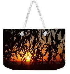 Good Morning Lake Michigan Weekender Tote Bag by Tiffany Erdman