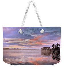 Weekender Tote Bag featuring the photograph Good Morning by Lisa Wooten